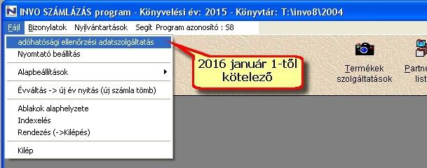 adóhatósági ellenőrzési adatszolgáltatás